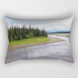 Alaskan River Rectangular Pillow