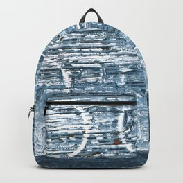 Weldon Blue abstract watercolor Backpack