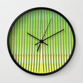 Traveler's Palm Wall Clock