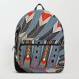 "Art Deco Egyptian Design ""The Nile"" Backpack"