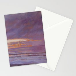 New Year's Day Sunset Stationery Cards