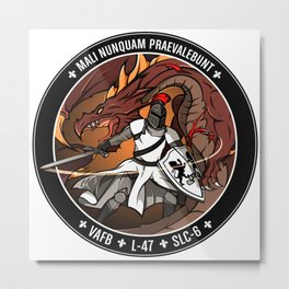 NROL-47: Program Logo Metal Print