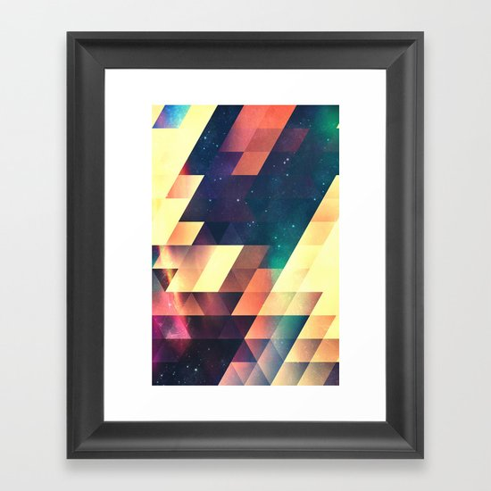 thyss lyyts Framed Art Print