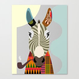 Ass Donkey Canvas Print