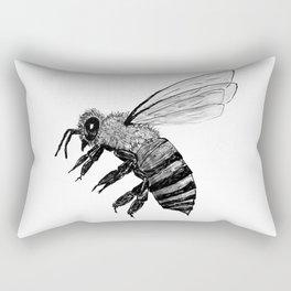 Amos Fortune Bee Rectangular Pillow