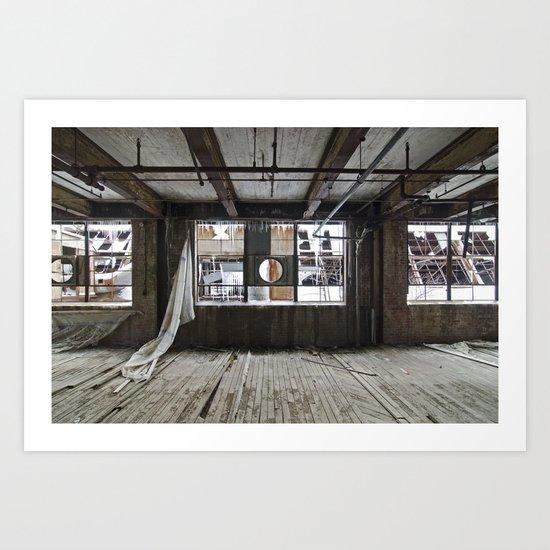 Factory H Art Print