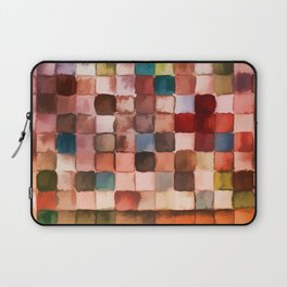 Colorful gift - Geometric watercolor Laptop Sleeve
