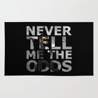 han solo Area & Throw Rugs featuring Star Wars Han Solo Quote 2 by foreverwars