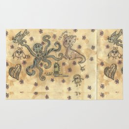 Silly Octopus Rug