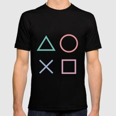Playstation Black MEDIUM Mens Fitted Tee