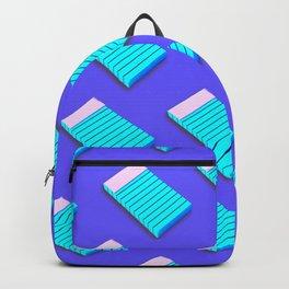 Blue Notepad Backpack