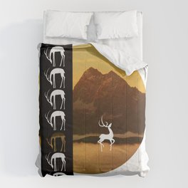 Stag on a Stroll  Comforters