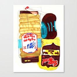Bread Box Canvas Print