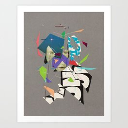 Transmitted or Perceived Art Print