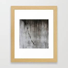 Cicatrix Framed Art Print