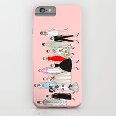 Audrey Hepburn Think Pink Outfits Fashion Slim Case iPhone 6s