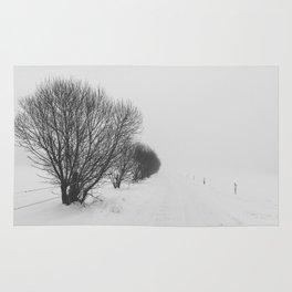 White road Rug