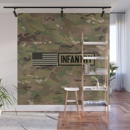 Infantry (Camo) Wall Mural