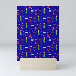 """The Little Prince"" Pattern Mini Art Print"