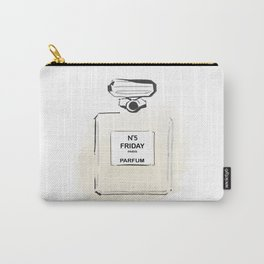 Beige Perfume 3 Carry-All Pouch