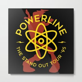 Powerline Metal Print