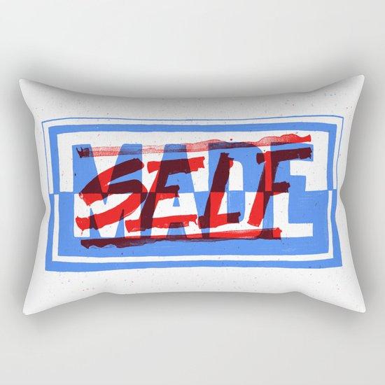 Self Made Rectangular Pillow