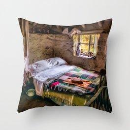 Victorian Bedroom Throw Pillow