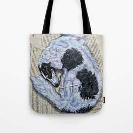Veil of Shadows Tote Bag