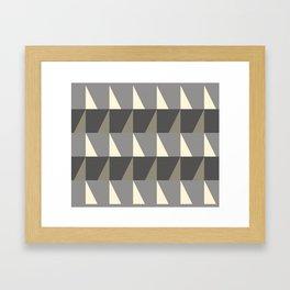 Cosy Concrete Framed Art Print