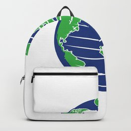 The Earth's Rotation Makes My Day Fun Gift Backpack