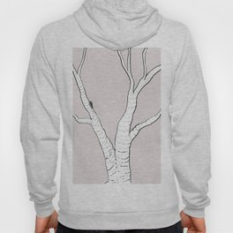 Birch Tree Illustration Hoody