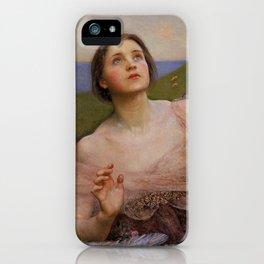 "Annie Louisa Swynnerton (née Robinson) ""The Sense of Sight"" iPhone Case"