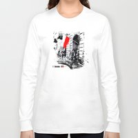 poland Long Sleeve T-shirts featuring Warsaw Uprising, Poland - 1944 by viva la revolucion