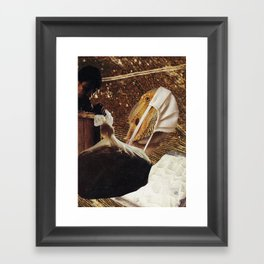 Topical Anesthetic Framed Art Print