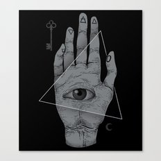 Witch Hand Canvas Print