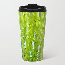 Palm Leaves Art Travel Mug