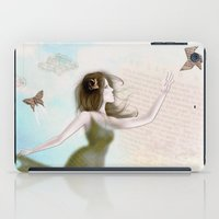 origami iPad Cases featuring Origami by CokecinL