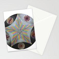 Galactic Pentagram (ANALOG zine) Stationery Cards