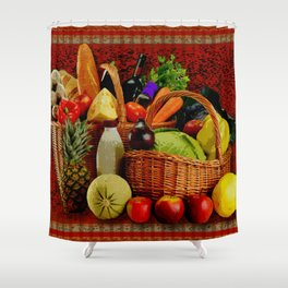 Grocery Day Shower Curtain