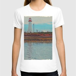 Lighthouse Travels in Time T-shirt