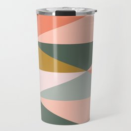 Earthy Desert Geometrics Travel Mug