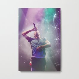 Chris Martin 02 Metal Print