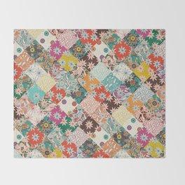 sarilmak patchwork Throw Blanket