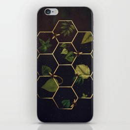 Bees in Space iPhone Skin