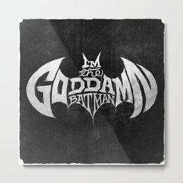 The GD BM Metal Print