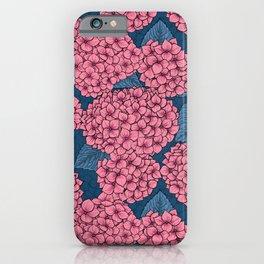 Hydrangea garden iPhone Case