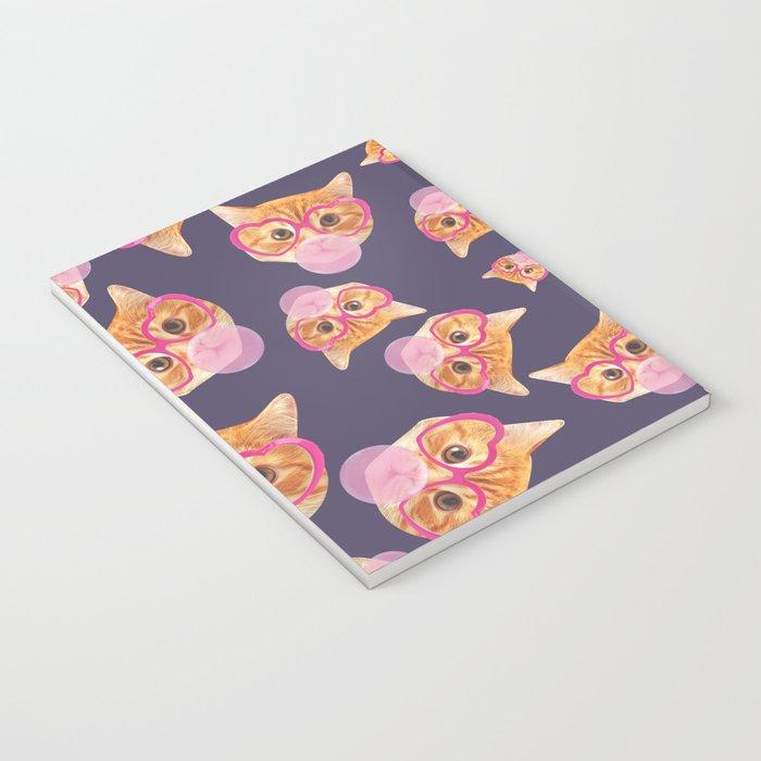 Bubblegum Cat Notebook