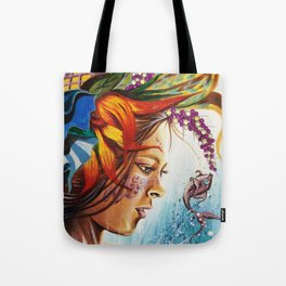 Demoiselle Tote Bag