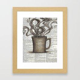 Cupfull of Happy Framed Art Print