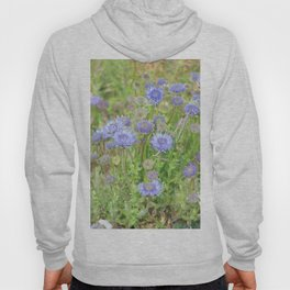 Flowers on the cornish coat Hoody